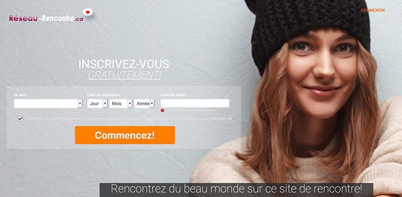 Review et avis du site Réseau-Rencontre.ca