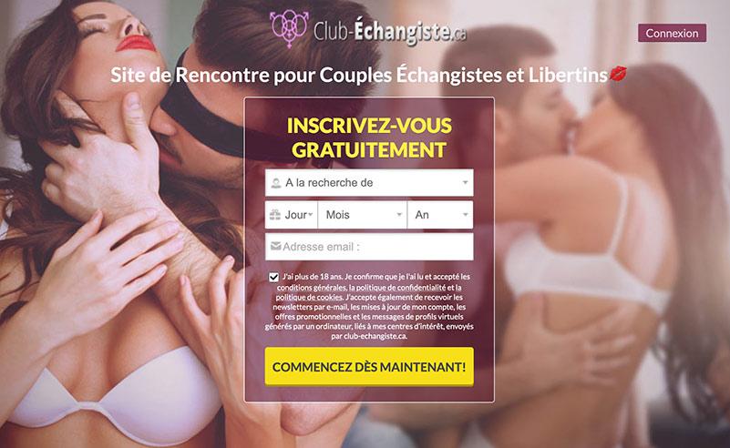 Club-echangiste.ca- Les avis sur ce site de rencontre _